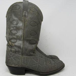 28e7c92928a 🇺🇸 Unbranded elephant print cowboy boots sz 11EW
